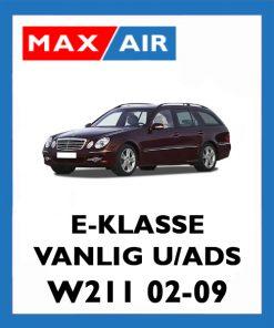 W211 Vanlig u/ADS
